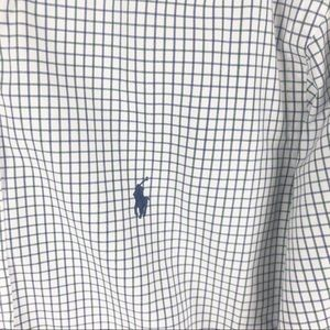 Ralph Lauren Shirts - Ralph Lauren plaid check button down shirt mens A1